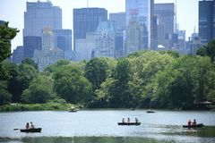 Озеро Central Park стоковые фото