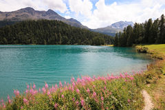 Озеро Champfer Стоковые Изображения RF