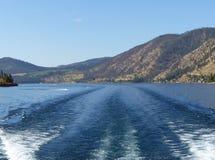 Озеро Chelan, WA Стоковое Изображение RF