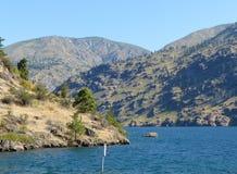 Озеро Chelan, WA Стоковые Изображения RF