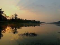 Озеро Chiangmai Стоковая Фотография RF