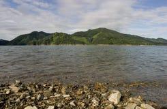 озеро chungju стоковое изображение