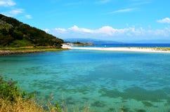 Озеро Cies (Галиция, Испания) Стоковые Фотографии RF