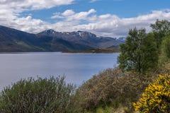 Озеро Cluanie Стоковое Изображение RF