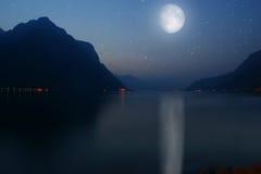 Озеро Como, Италия Стоковое Фото