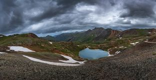 Озеро Como Колорадо США Стоковое Изображение