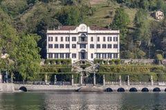 Озеро Como на вилле Carlotta Стоковые Изображения RF