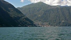 Озеро Como шлюпкой акции видеоматериалы