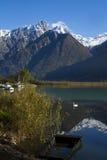 Озеро Como Стоковое Фото
