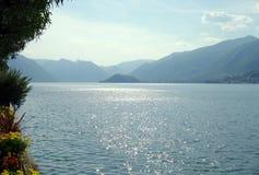 Озеро Como Стоковая Фотография