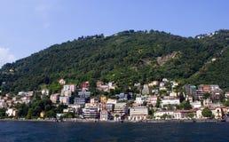 Озеро Como Стоковое Изображение