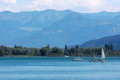 озеро constance Стоковое Изображение RF