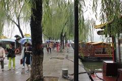 Озеро Da Ming Стоковая Фотография