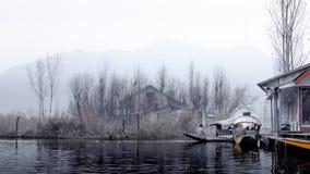 Озеро Dal озеро в Сринагаре, Кашмире, Индии Стоковая Фотография RF