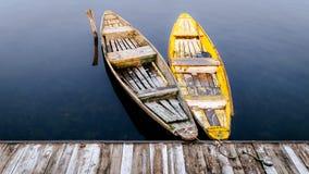Озеро Dal озеро в Сринагаре, Кашмире, Индии Стоковые Изображения RF