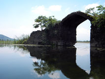 Озеро Dal, Сринагар, Индия Стоковое Изображение