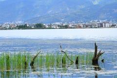 Озеро Dali Erhai стоковые фото
