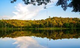 Озеро Dambri Стоковая Фотография