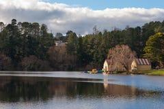 озеро daylesford Австралии Стоковые Фото