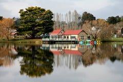 озеро daylesford Стоковая Фотография