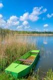 Озеро Deliblat стоковые изображения rf
