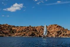 Озеро Dell-Уотсон AZ-Prescott-гранита Стоковое Изображение