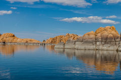 Озеро Dell-Уотсон AZ-Prescott-гранита Стоковое фото RF
