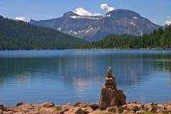 озеро devero Стоковая Фотография RF