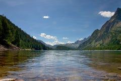 озеро devero Стоковое Изображение