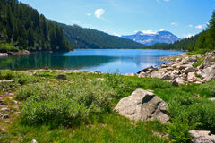 озеро devero Стоковое фото RF