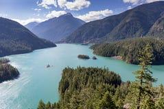 озеро diablo стоковые фото