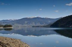 озеро dillon colorado стоковые изображения rf