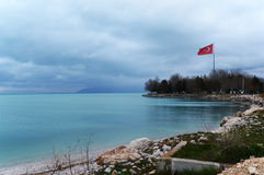 Озеро Egirdir стоковая фотография rf