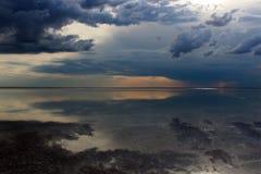 Озеро Elton стоковое фото