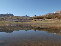 Озеро ensko ‡ ¡ Ä PoÅ стоковое фото