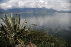 Озеро Erhai в Юньнань, Китае Стоковая Фотография RF