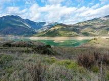 Озеро Evinos, Греция Стоковое Изображение RF