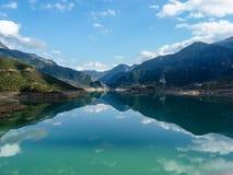 Озеро Evinos, Греция Стоковые Изображения