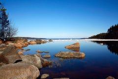 озеро floe Стоковое Изображение