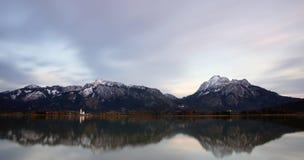 Озеро Foggensee стоковое изображение rf