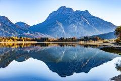 Озеро Forggensee Стоковые Изображения