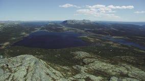 Озеро Furusjoen сток-видео