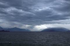 Озеро Garda на Desenzano Стоковое фото RF