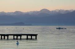 Горы близко к Lago di Garda Стоковая Фотография RF