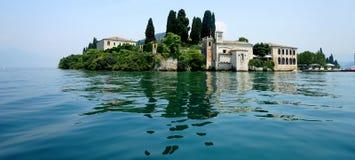 Озеро Garda Сан Vigilio Стоковая Фотография