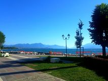 Озеро Garda Стоковое Изображение