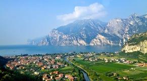 Озеро Garda Стоковые Изображения