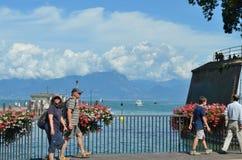 Озеро Garda стоковое фото