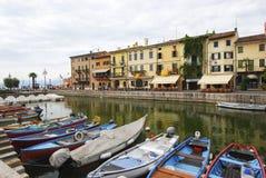 Озеро Garda Lazise, Itay 01 Стоковые Изображения
