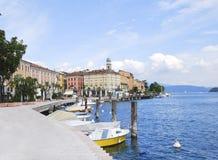 Озеро Garda, Sal0 01 Стоковая Фотография RF